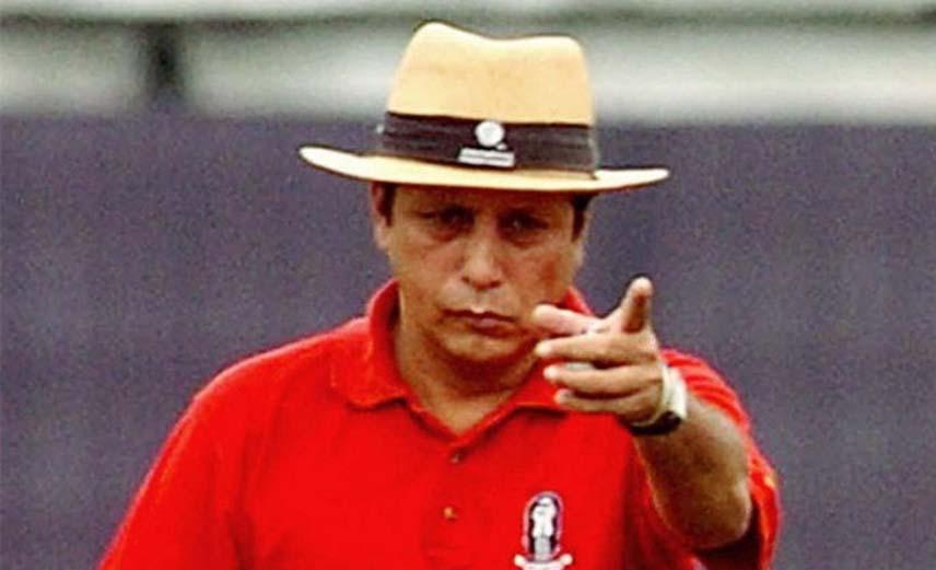 Umpire Nadir Shah has passed away